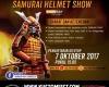 SAMURAI HELMET SHOW OK