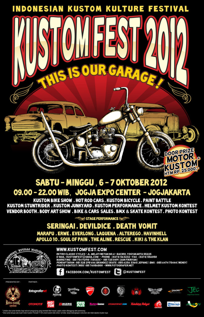 kustomfest 2012 - this is our garage