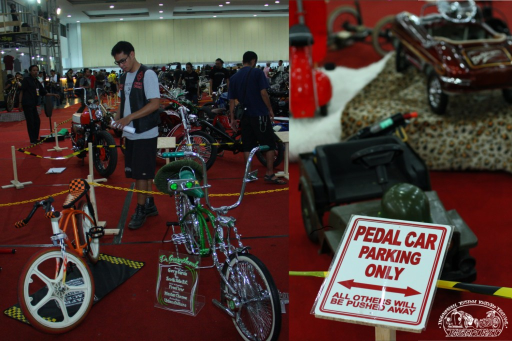 Kustom Bicycle & Pedal Car